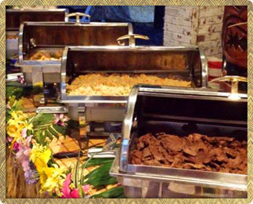Luau Catering in Houston, TX