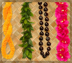 artificial hawaiian leis