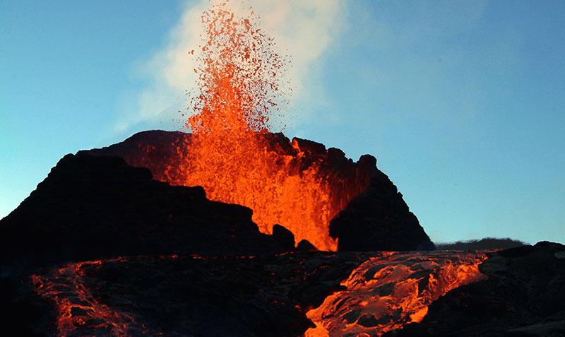 hot lava band